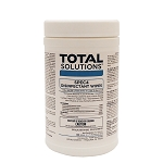 Total Solutions Spec 4 Disinfectant Wipes, Canister, Lemon Scent, 6